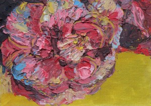 Red flower III - 12.5cm x 17.5cm