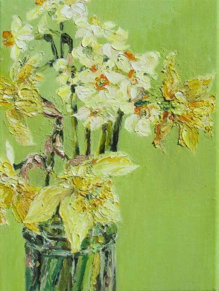 Spring blooms - 40cm x 30cm