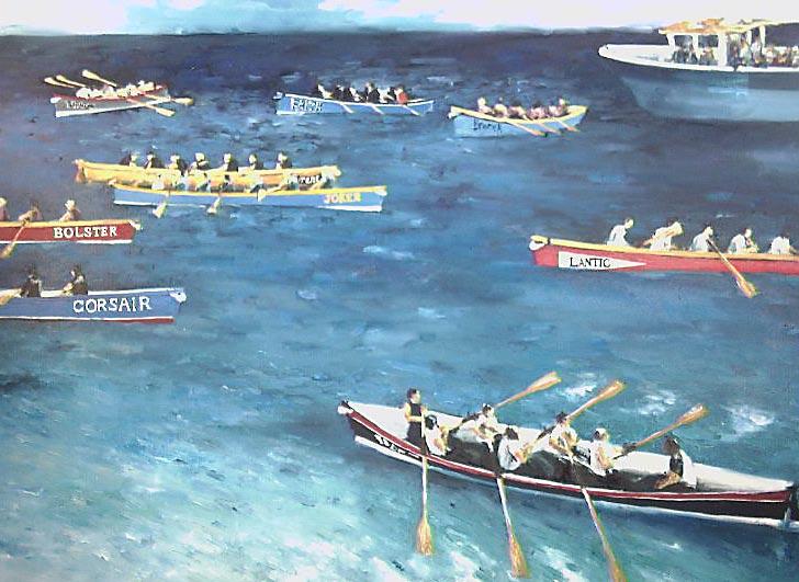 gig rowing paintings | Artwork