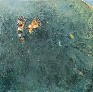 Broken wing - 20cm x 20cm