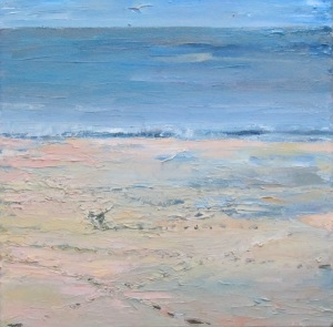 On the beach - Rosevine - 30cm x 30cm
