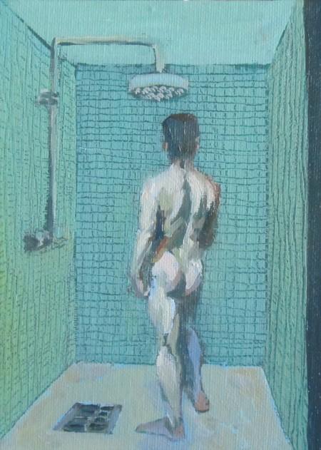 Cold shower - 7 inch x 5 inch