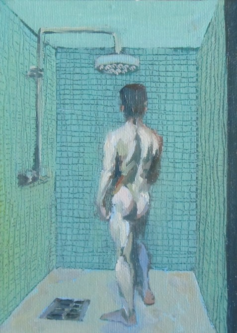 Cold shower - 7 inch x 5 inch