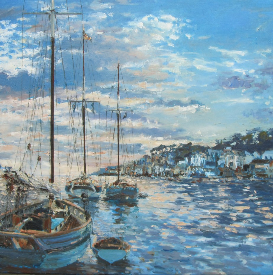 Evening, Pilot Cutters - 70cm x 70cm1