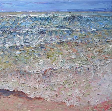 Wave - 40cm x 40cm