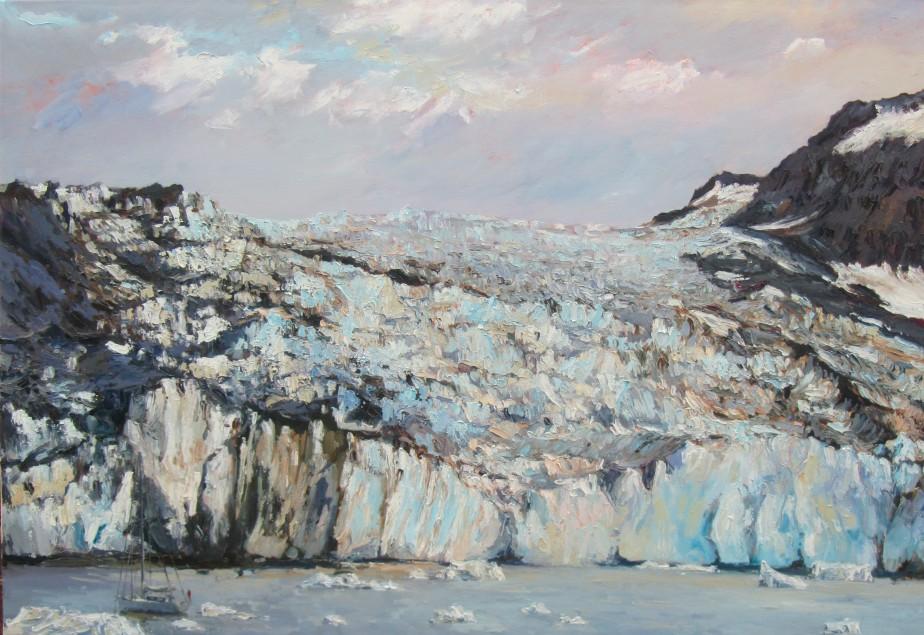 Anchorage, Borgvig Glacier - 70cm x100cm