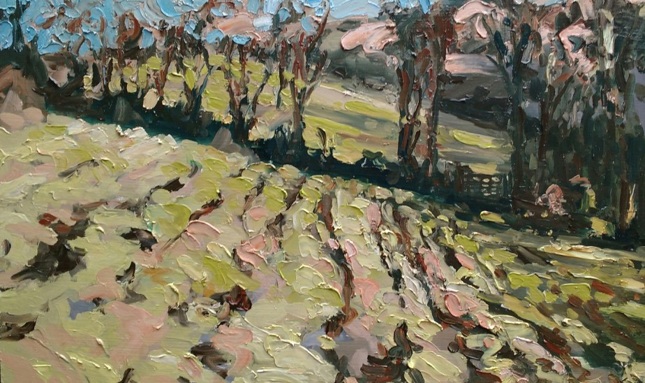 'Landing fields' - 25cm x 40cm