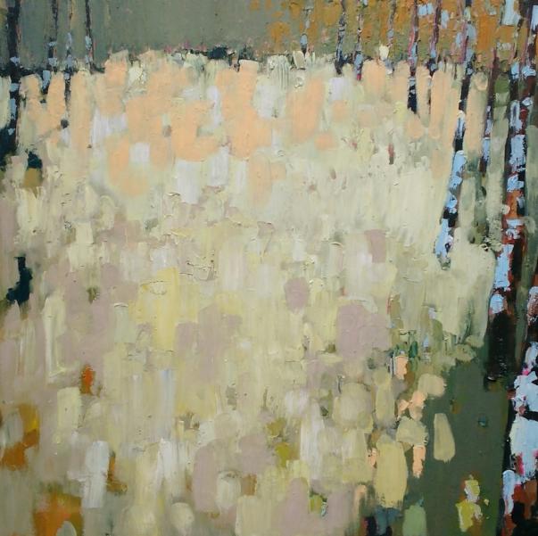 Meadow painting - 40cm x 40cm