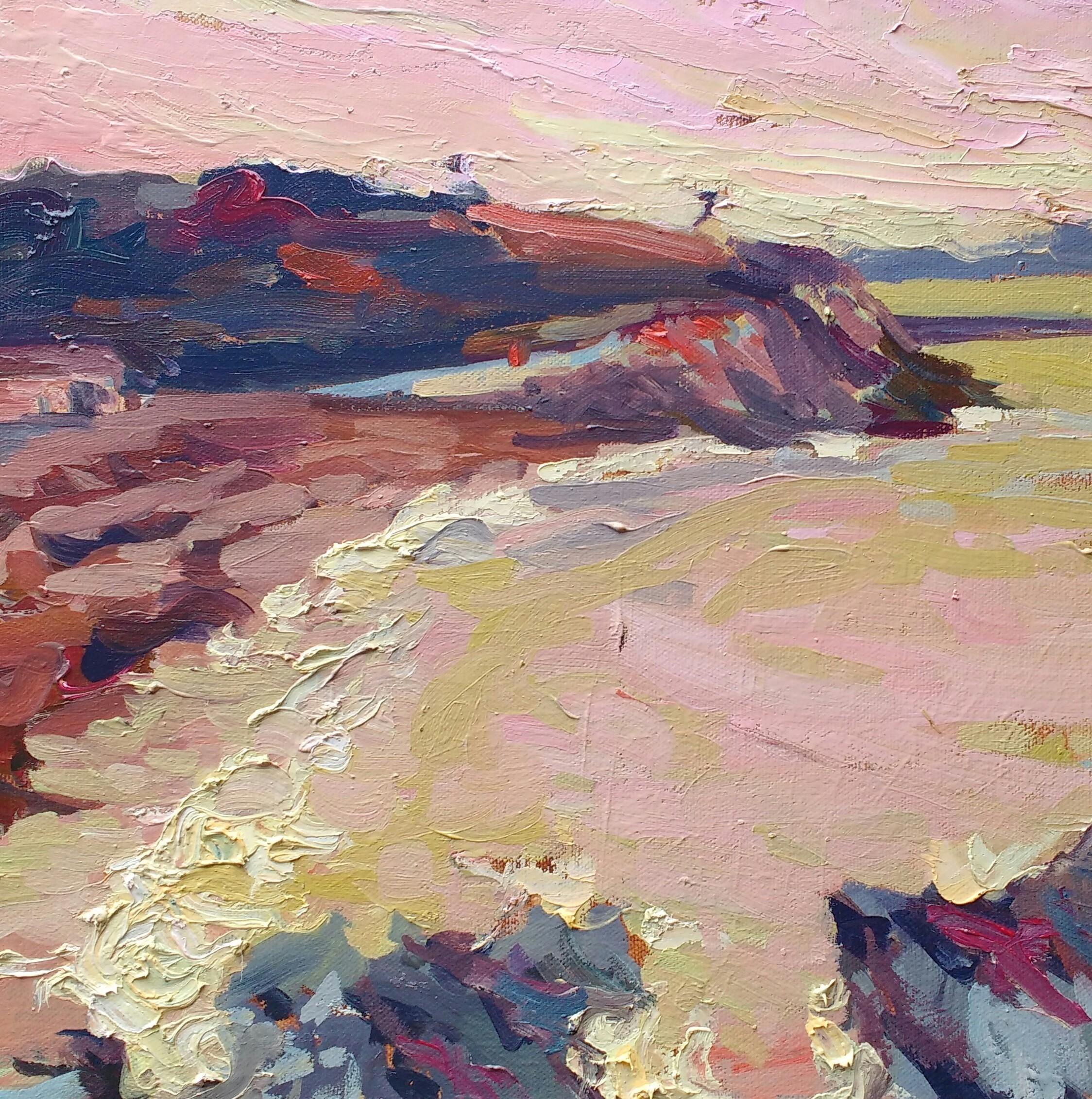 'Sea pink' - 30cm x 30cm