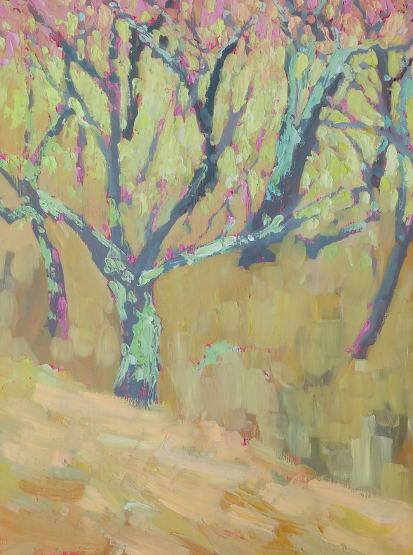 The orchard - 40cm x 30cm