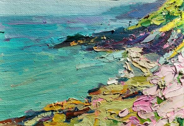 Sea pinks - 12.5cm x 18cm